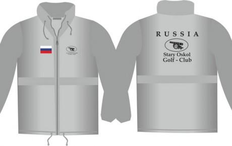 Ветровка для «Старооскольского гольф-клуба»
